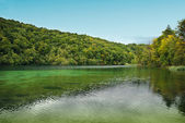 National park Plitvice lake — Stock Photo