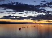 Colour sunset — Stock Photo