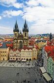 Eski şehir meydanı — Stok fotoğraf