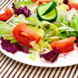 Fresh vegetable salad -  