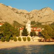 Sunset in Adriatic resort — Stockfoto #1182412