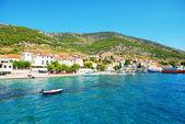 Station de beauté dans la mer adriatique — Photo