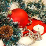 Christmas decorations — Stock Photo #1195627