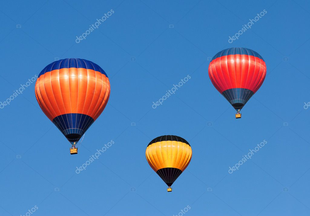 Colorful Hot Air Balloons — Photo #1195943