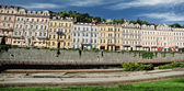 Panorama of Karlovi vary — Stock Photo