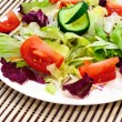 Fresh vegetable salad — Stock Photo #1237358