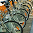 Bicycles Parked in Brussels — Stock Photo #1241923