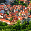 Stock Photo: View on streets of Prague