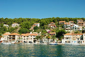Adriatic coastline — Stockfoto