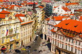 Narrow streets in Prague — Stock Photo