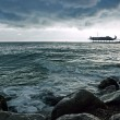 Winter coastline before the storm — Stock Photo #1437517
