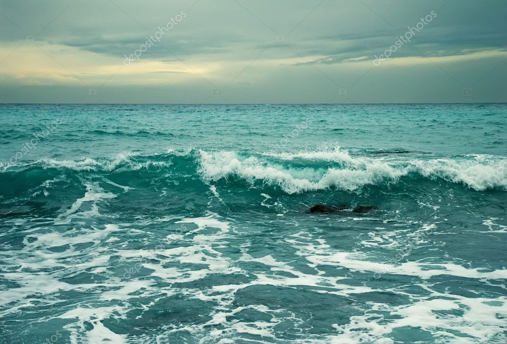 Sea storm. Crimea  Stock Photo #1670516