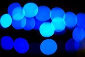 Immagine sfocato delle lampadine — Foto Stock
