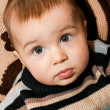 Sitting baby — Stock Photo