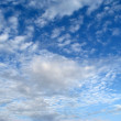 White clouds in blue sky — Stock Photo #1189536