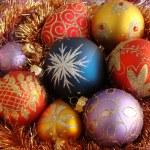 Many christmas balls — Stock Photo #1191963