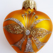 Heart Christmas Ornament — Stock Photo #1192580