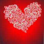 バラの心 — ストック写真