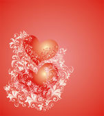 Vector Valentines Day background — Stock Vector