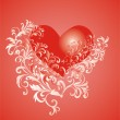 Vector Valentines Day background — Stock Vector #2168017