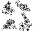 Floral ornament, Element for design - Stock Vector
