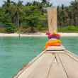 Stock Photo: Longtailboat trip around island