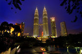 Tours jumelles de petronas — Photo