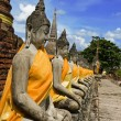Statues of Buddha — Stock Photo