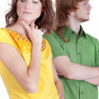 Frustrated couple — Stock Photo