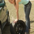 Tire change — Stock Photo #1174874