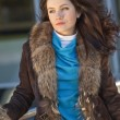 Woman in fur coat — Stock Photo #1176969