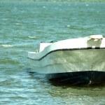båt vid piren — Stockfoto