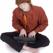 Student with laptop — Stock Photo #1177745
