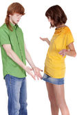 Conflict between couple — Stock Photo