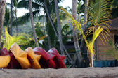 Kayak on the beach — Stock Photo