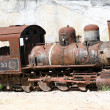 Old steam locomotive — Stock Photo #1180085