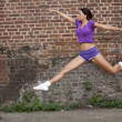 Dancer jumping — Foto Stock