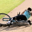 Crash with bicycle — Stock Photo #1242216