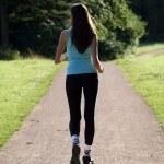 Woman walking — Stock Photo #1242337