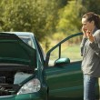 Stock Photo: Car Breakdown