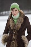 Winter coat — Stock Photo