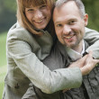 Portrait of love couple — Stock Photo