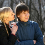 Romantic teenages — Stock Photo #1608000