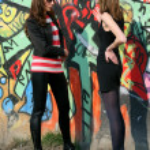Conflict between girls — Stock Photo