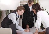 工作上的业务计划 — 图库照片