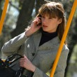 Woman on the phone — Stock Photo #1845744