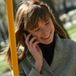 Woman on a phone — Stock Photo #1845749