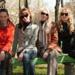 Group portrait of women friends — Stock Photo #1846305
