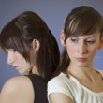 Two sad women — Stock Photo #2082004
