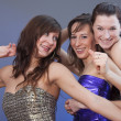 Women dancing at disco — Stock Photo